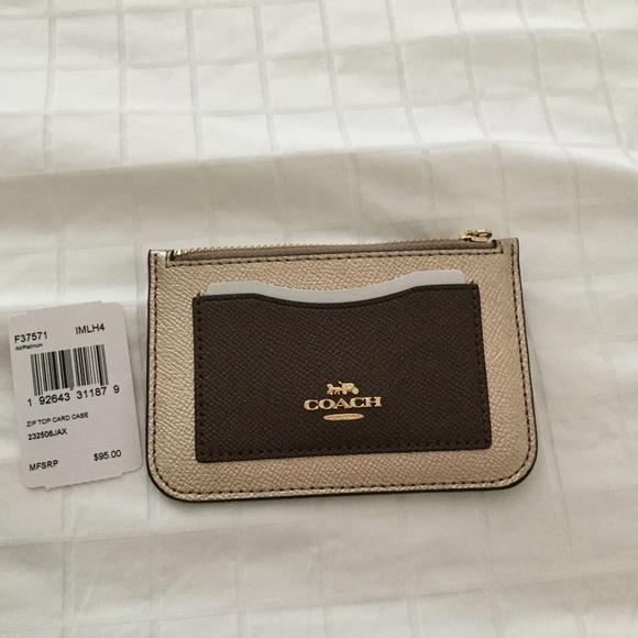 Coach Handbags - Coach card case